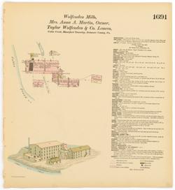 Hexamer General Surveys - Free Library of Philadelphia Map
