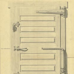 [Jamison Cold Storage Door Co.] Cold Storage Door with Fittings Revised (Chandlee 5/8/1939) Cret Collection Athenaeum of Philadelphia.  sc 1 st  Philadelphia Architects and Buildings & holding: Jamison Cold Storage Door Co. -- Philadelphia Architects ...