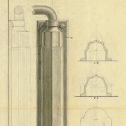 Jamison Door Closer Design B (Chandlee 5/8/1939) Cret Collection Athenaeum of Philadelphia.  sc 1 st  Philadelphia Architects and Buildings & holding: Jamison Cold Storage Door Co. -- Philadelphia Architects ...
