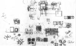 [Erdman Hall] [Trustees Of Bryn Mawr College] Plan, Various Studies (Louis  I. Kahn, Architect) Louis I. Kahn Collection, Architectural Archives, ...