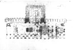 [Erdman Hall] [Trustees Of Bryn Mawr College] Plan (Louis I. Kahn,  Architect) Louis I. Kahn Collection, Architectural Archives, University Of  Pennsylvania.