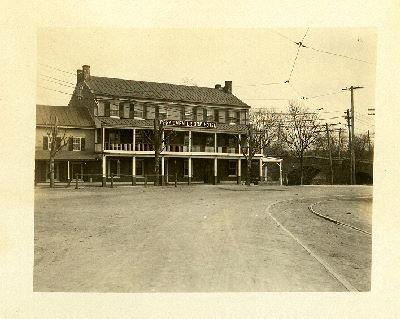 Perkiomen Bridge Hotel Exterior 1907 Athenaeum Of Philadelphia